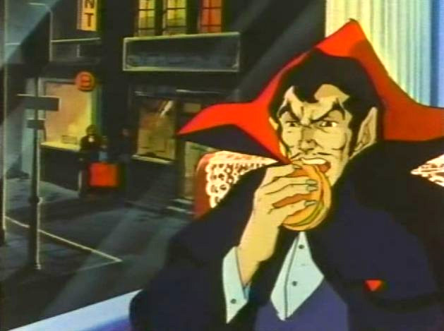 Taste the Hamburger of Dracula!