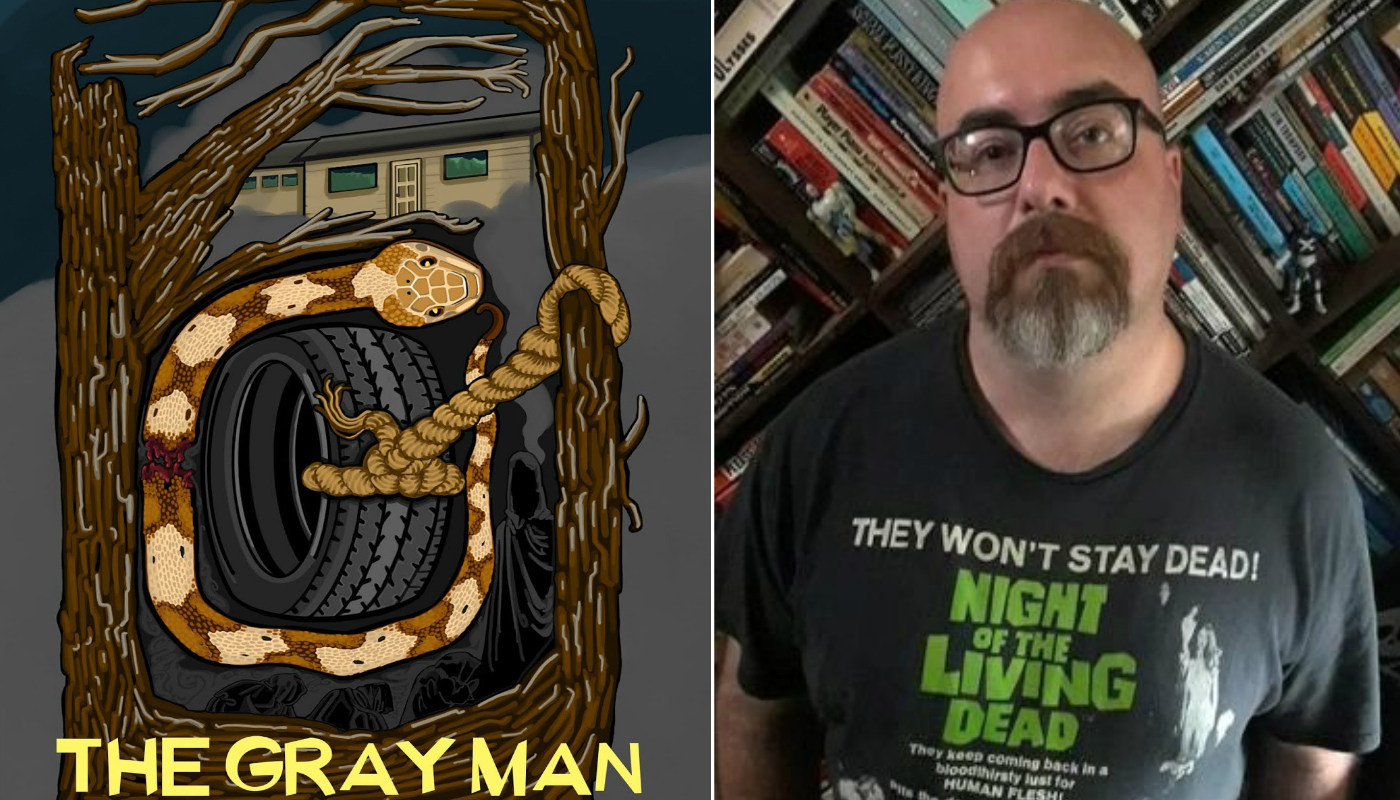 Perusing the ghostly pages of 'The Gray Man'
