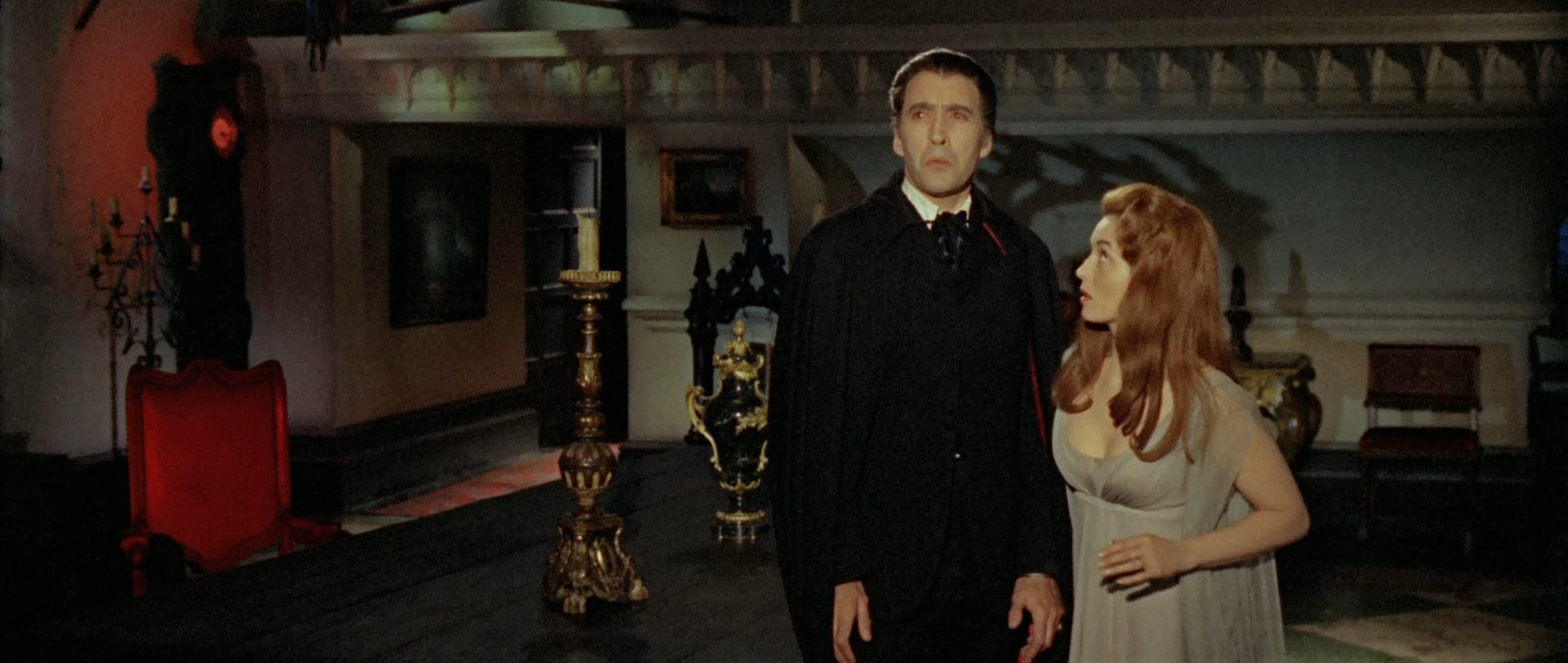 Scenes: 'I am the Resurrection', Dracula: Prince of Darkness (1966).