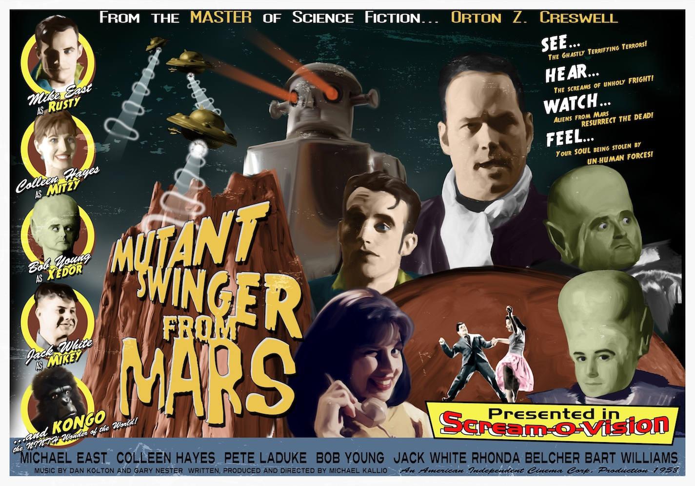The Orson Welles of Midnight Movies presents Mutant Swinger from Mars [2009]