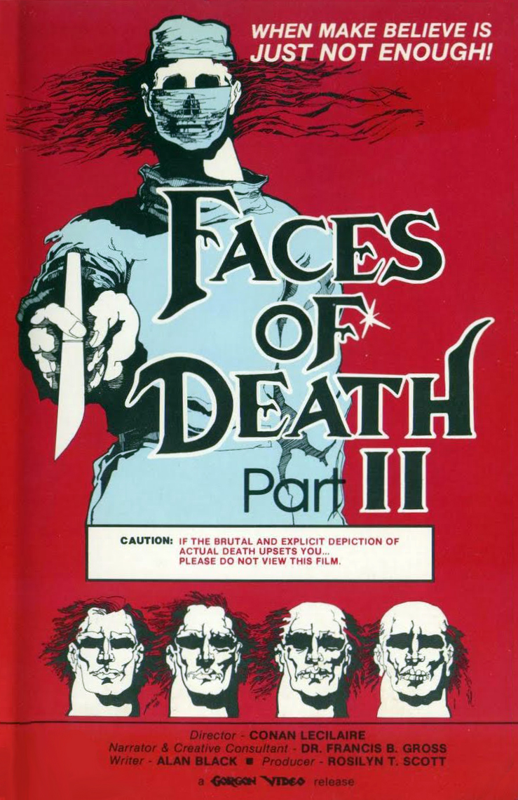 An Expose of Upheaval in a Changing Decade: Faces of Death II (1981).