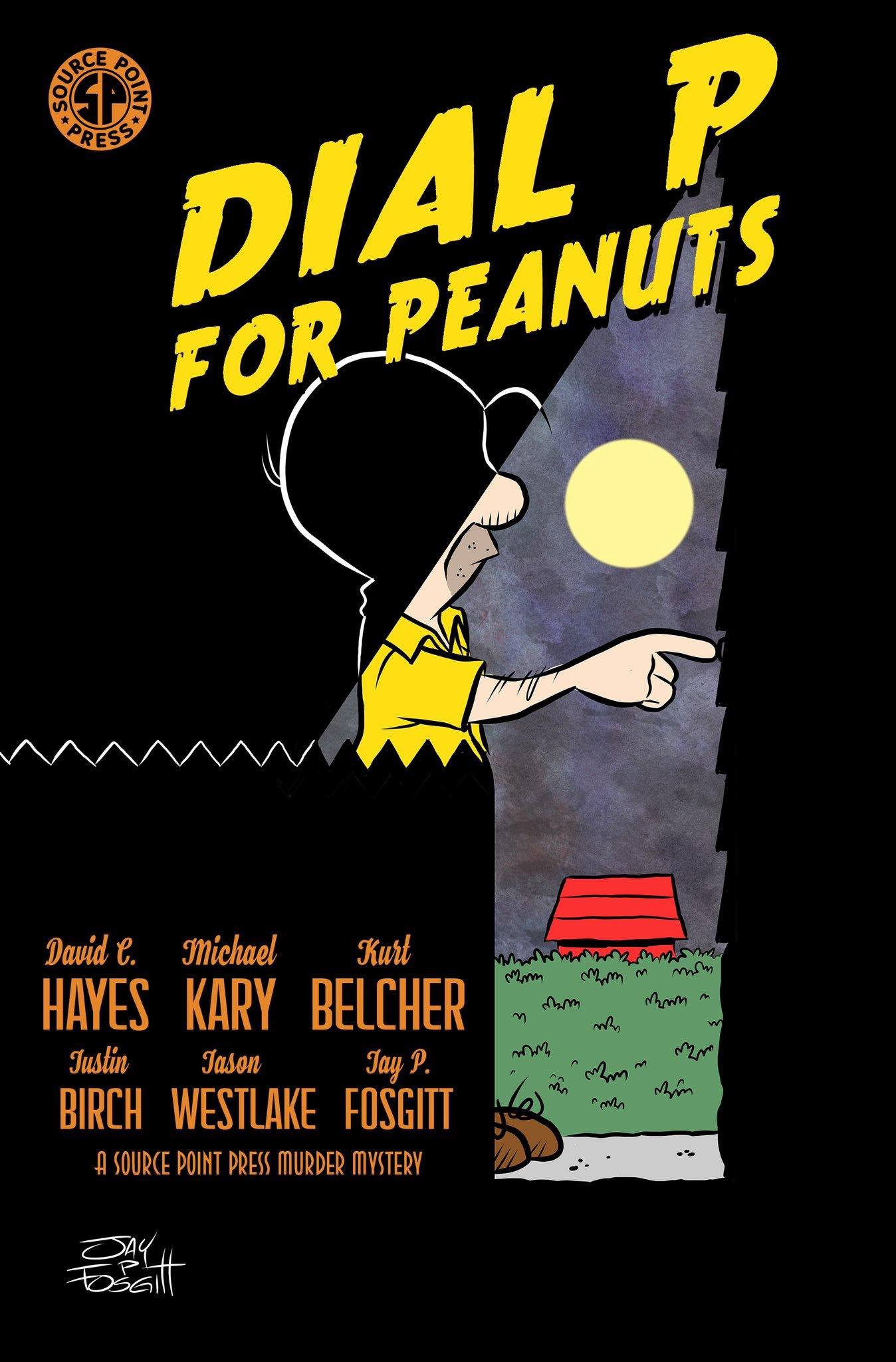 Dial P for Peanuts New Murder Mystery Graphic Novel