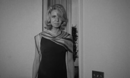 Touched by an angel: Miss Salome Jens